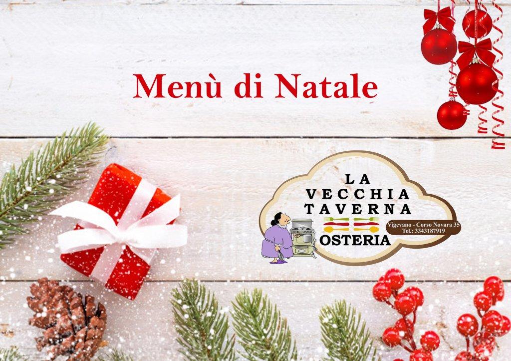 La Vecchia Taverna ti invita al Suo pranzo di Natale!