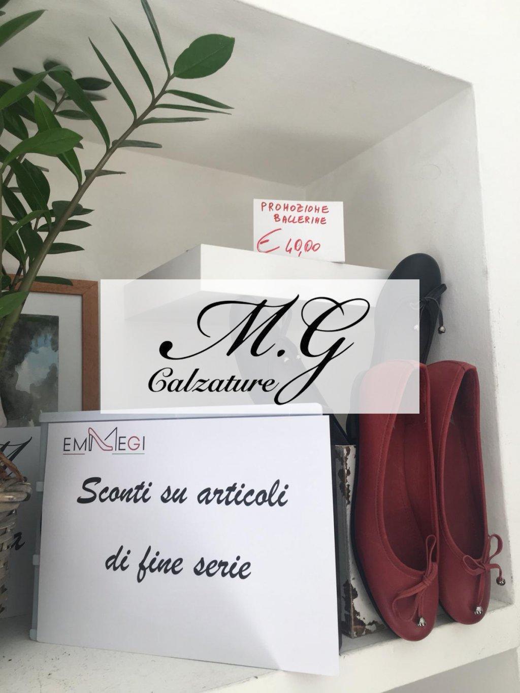 Saldi fino al 50% sulla collezione - M.G Calzature