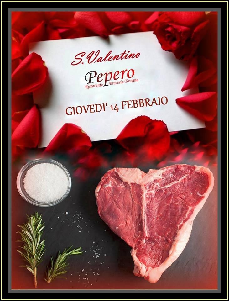 Cena di San Valentino - Pepero