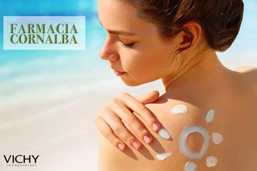 Proteggi la tua pelle con i solari Vichy - Cornalba