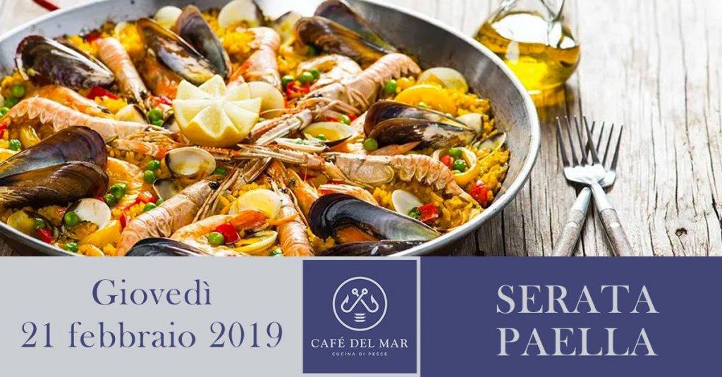 Serata a tema Paella - Cafè del Mar