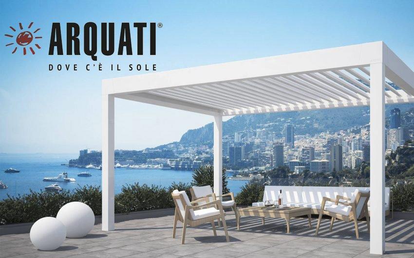 Proteggi tutto l'anno i tuoi spazi all'aria aperta con Arquati