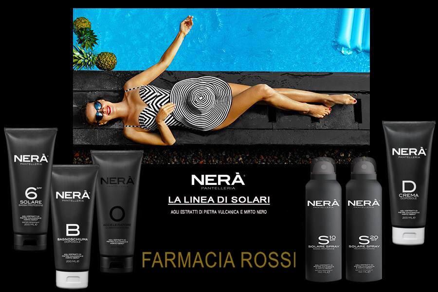 Rendi la tua abbronzatura intensa e duratura con i Solari di Nerà Pantelleria - Farmacia Rossi