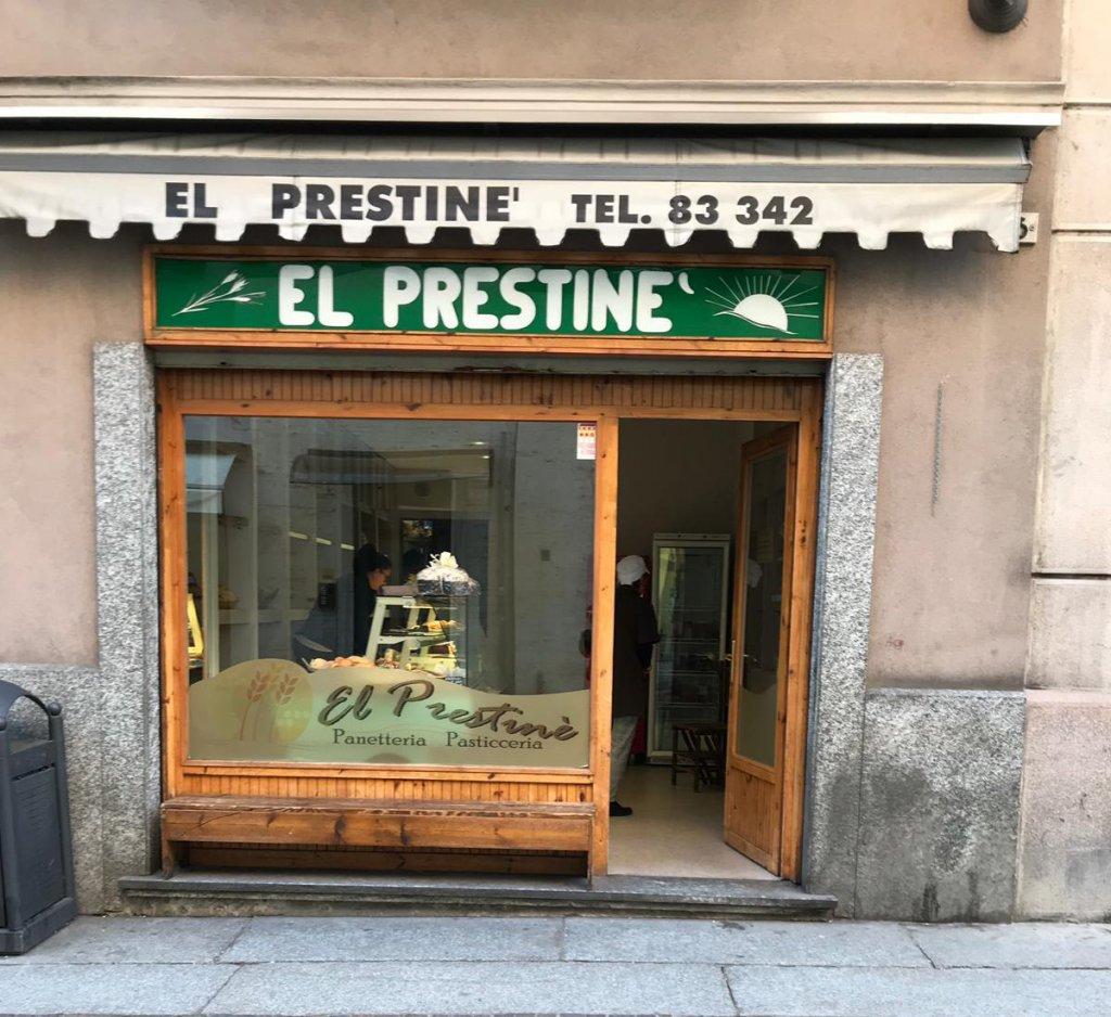 Inaugurazione 20 aprile da El Prestinè