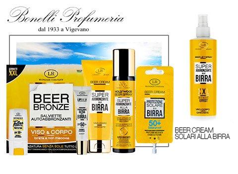 Preparati all'estate con i solari alla birra di Wonder Company - Profumeria Bonelli