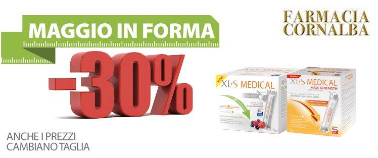 Maggio in forma con XL-S - Farmacia Cornalba