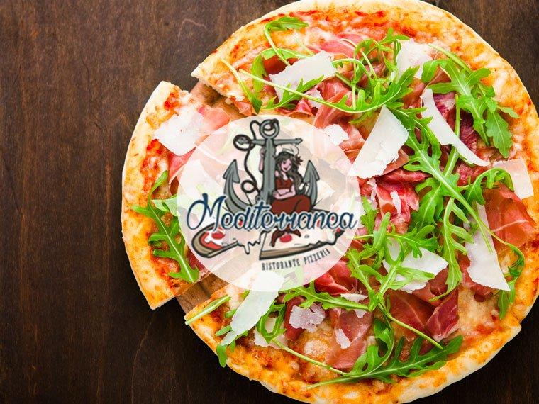 Improvvisa voglia di pizza? Ordina a domicilio dal Ristorante Mediterranea