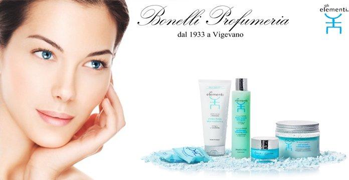 Risveglia tutta la bellezza della tua pelle con Gli Elementi - Profumeria Bonelli