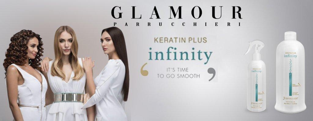 E' ora di andare liscio con Keratin Plus infinity da Glamour Parrucchieri