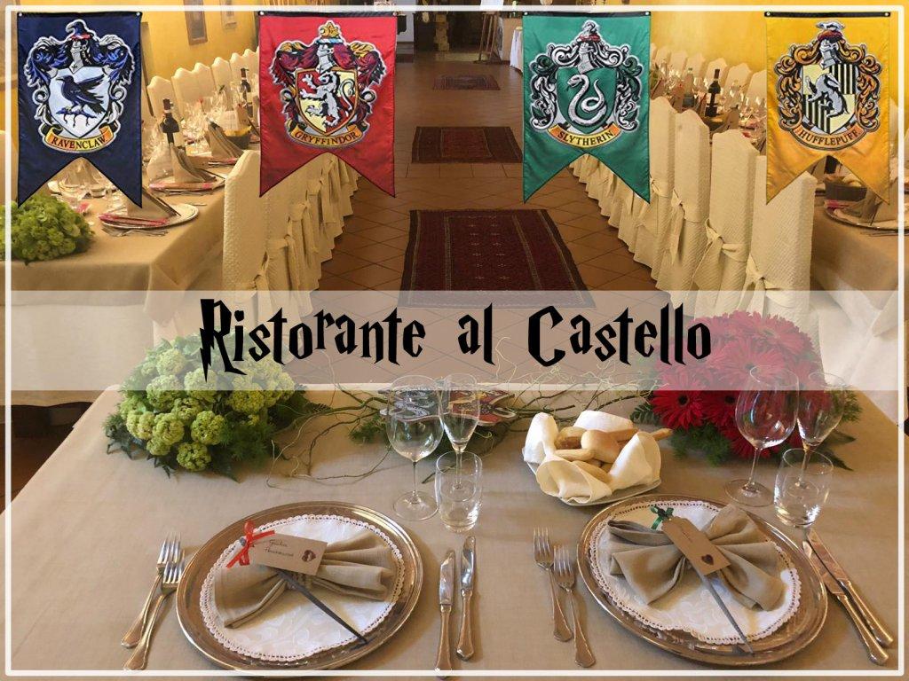 Matrimonio in stile Harry Potter al Ristorante al Castello