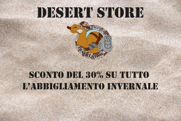 Approfitta dello sconto sull'abbigliamento invernale! - Desert Store