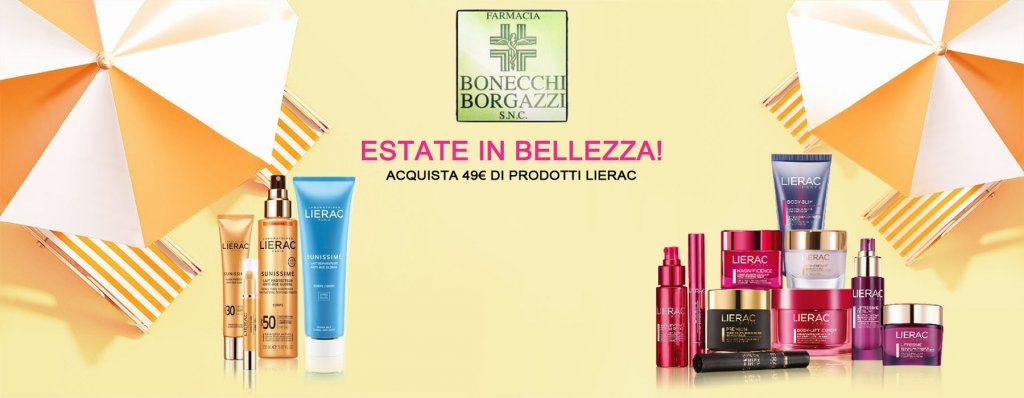 Estate in Bellezza! - Farmacia Bonecchi Borgazzi