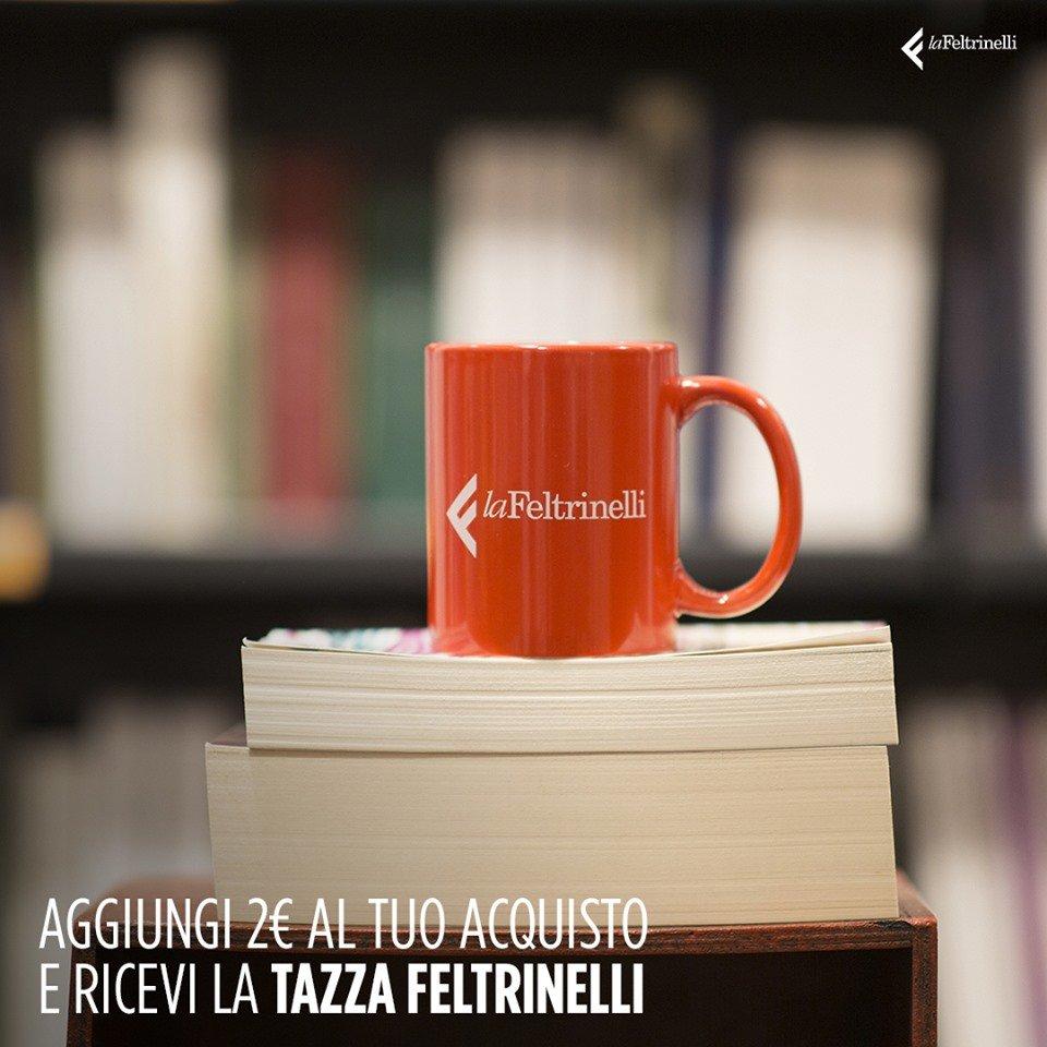 Ricevi la tazza firmata Feltrinelli aggiungendo 2€!