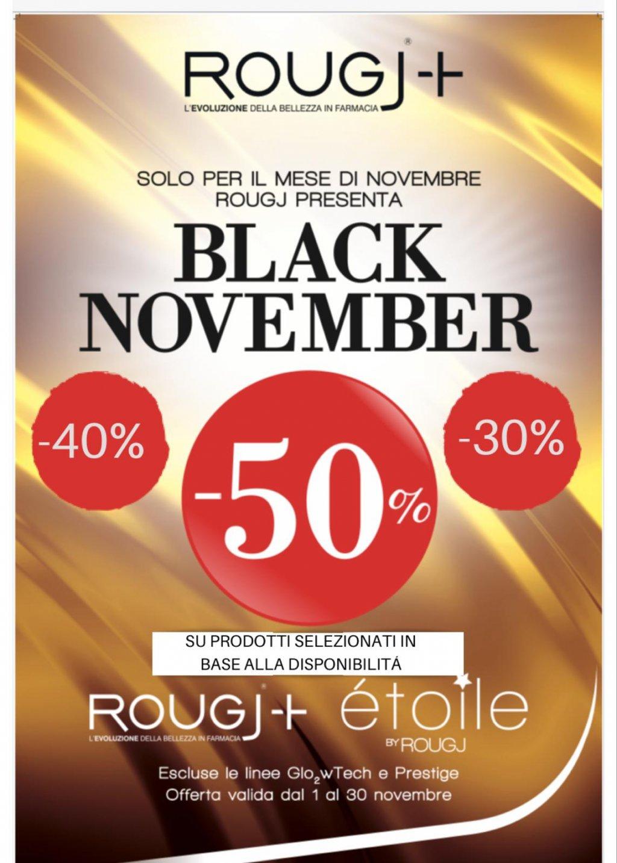 Black November da Farmacia Vidari