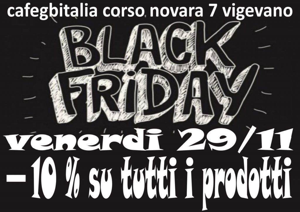 Black Friday da Cafegbitalia