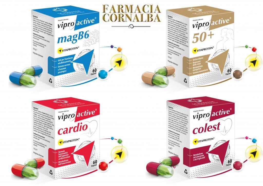 Integratori di nuova generazione con Vitaprotein - Farmacia Cornalba