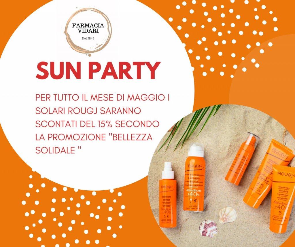 Sun Party da Farmacia Vidari
