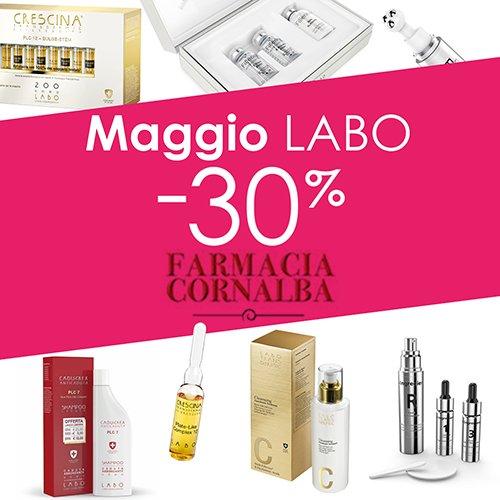 Promozione Maggio Labo - Farmacia Cornalba