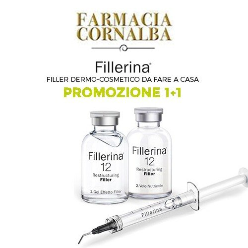 Promozione Fillerina 1+1 - Farmacia Cornalba
