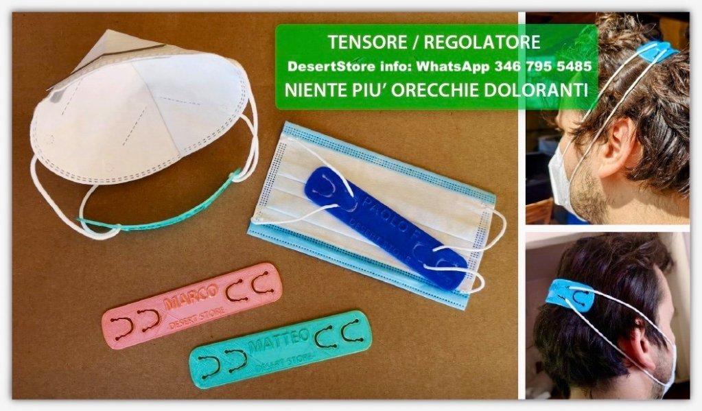 Regolatori/ Tensori Personalizzati per mascherine - Desert Store