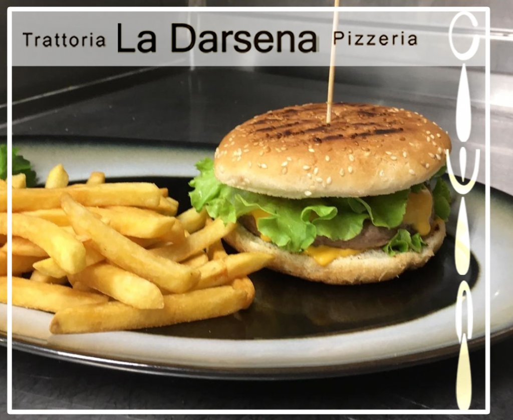 Anche un hamburger può fare la differenza! -Trattoria La Darsena