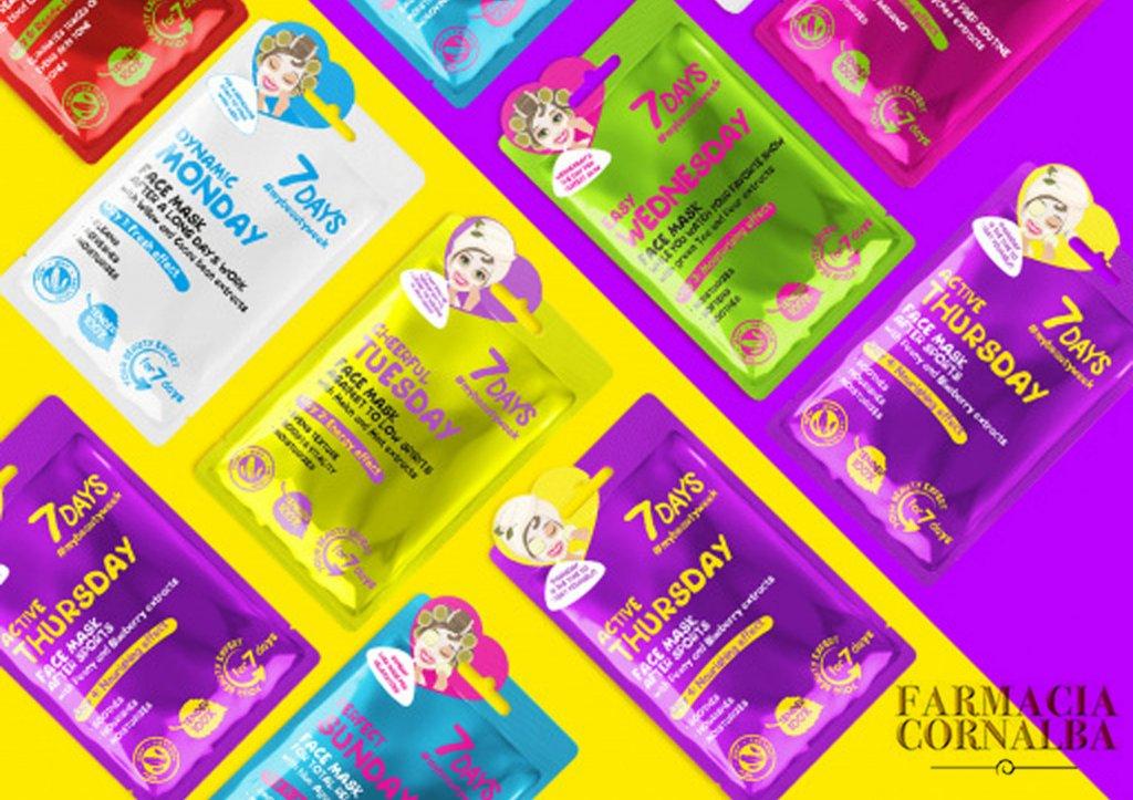 La tua settimana di bellezza è iniziata, con 7 days! - Farmacia Cornalba