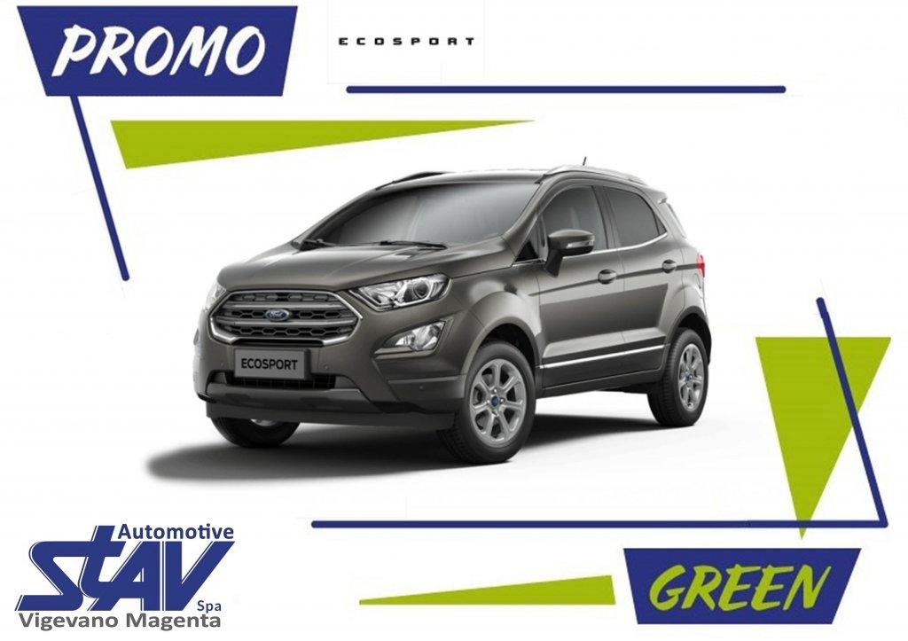 Scopri la promo Ford EcoSport Green - Concessionaria Stav