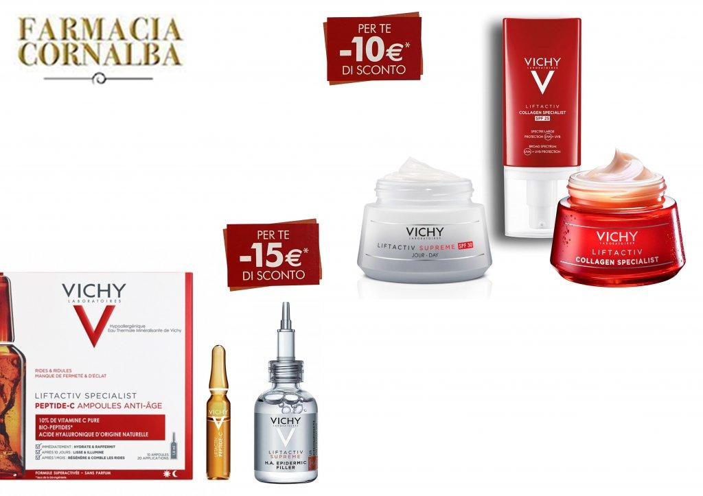 Sconto di €10 e €15 con vichy! - Farmacia Cornalba