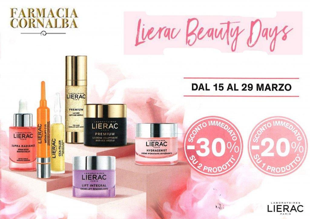 Lierac Beauty Days! - Farmacia Cornalba