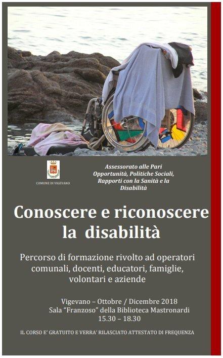 Conoscere e riconoscere la disabilità - Percorso di formazione
