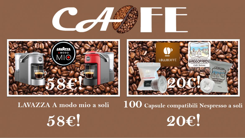 Super OFFERTA! 100 Capsule compatibili Nespresso a soli  € 20,00!