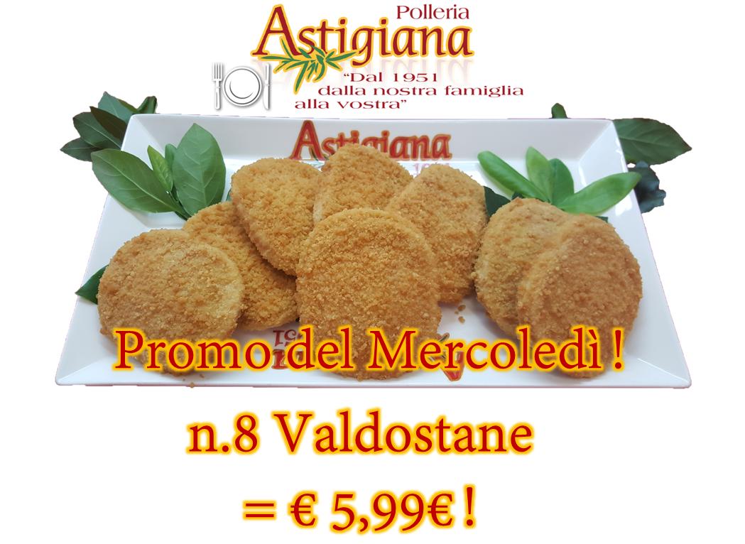 Promo del Mercoledì! N.8 Valdostane a soli 5,99€ !!!