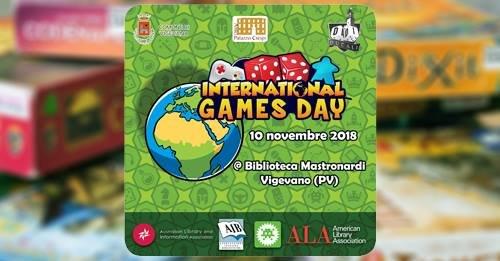 International Games Day 2018 - Giochiamo tutti insieme