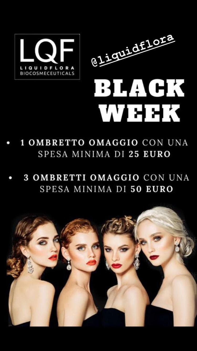 Farmacia Vidari, BLACK WEEK Liquidflora
