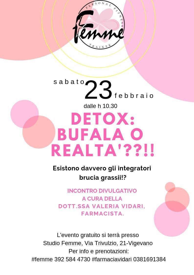 Detox: Bufala o realtà?! - Farmacia Vidari