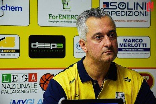 Vigevano24: Basket serie B, parla coach Piazza (Elachem Vigevano)