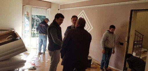 Vigevano24: sgombero di un alloggio dell'Aler occupato abusivamente, sopralluogo del vice sindaco Andrea Ceffa