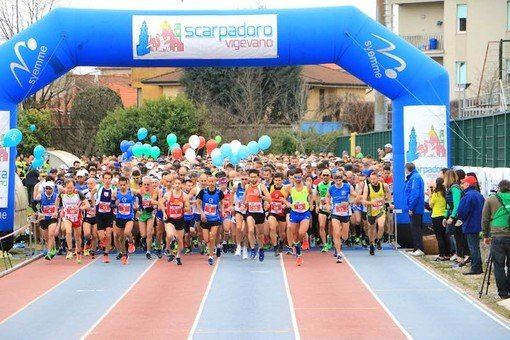 Vigevano24: 13° Scarpadoro nella Half Marathon vincono Lollo e Angotti