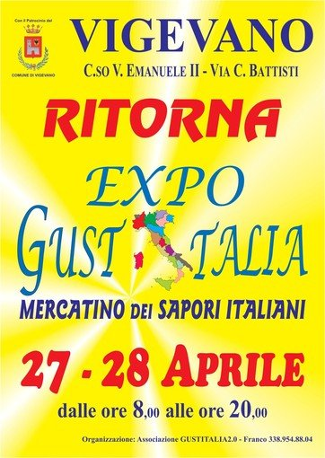 Vigevano24: nel weekend torna il mercatino dei sapori di Expo Gustitalia