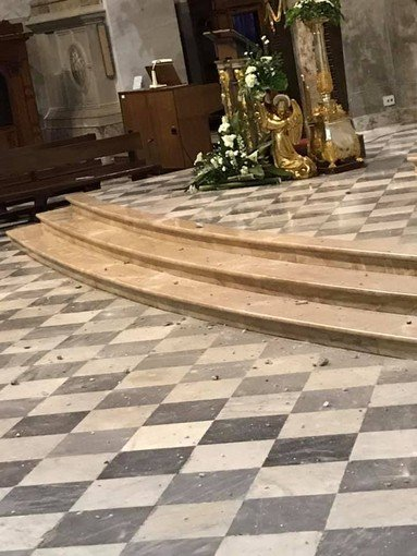Vigevano24: il maltempo danneggia il Duomo
