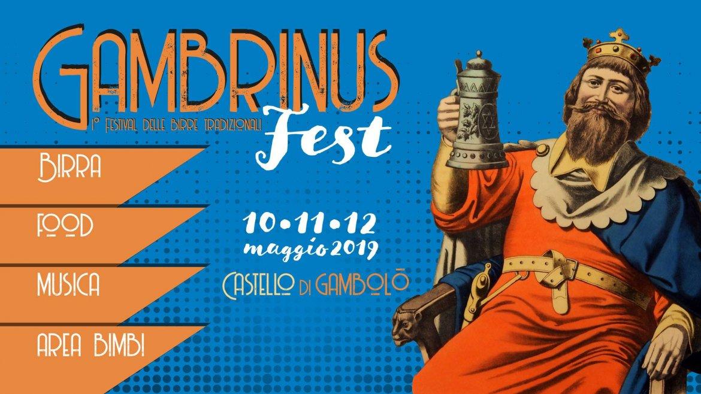 Gambrinus FEST Festival delle Birre Tradizionali 10-11-12 Maggio
