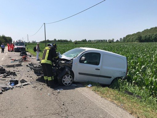 Vigevano24: Gambolò: tragico schianto sulla provinciale