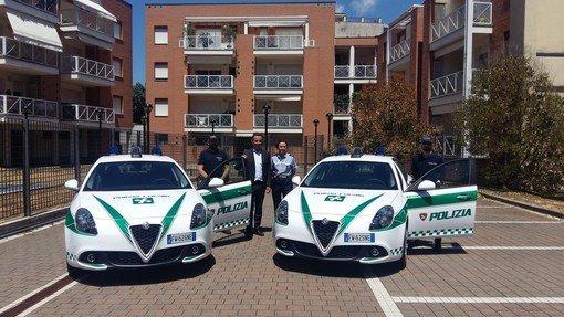 Vigevano24: Vigevano, la Polizia Locale presenta le due nuove Alfa Romeo Giulietta