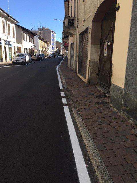 Vigevano24: Vigevano:terminati i lavori in corso Novara