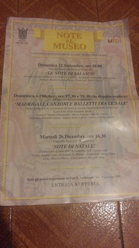 Vigevano24: Ecco il ricco programma autunnale del Museo Diocesano di Vigevano