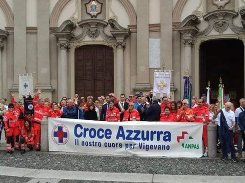 Vigevano24: Vigevano, si festeggiano i 50 anni di Croce Azzurra