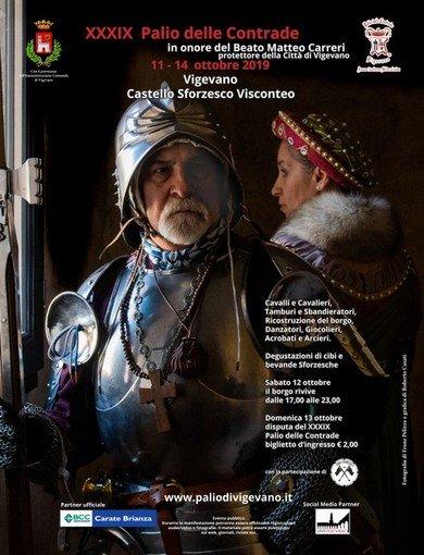 Vigevano24: Palio di Vigevano all'edizione numero XXXIX