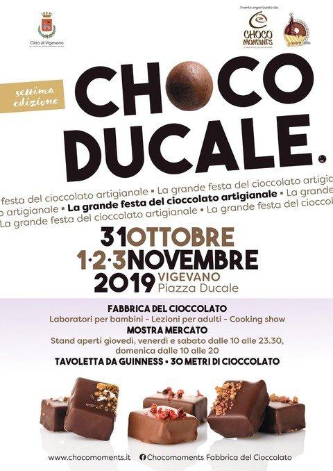 """Vigevano24: Vigevano, torna """"Choco Ducale"""": in piazza una girandola di eventi per celebrare il cioccolato artigianale"""