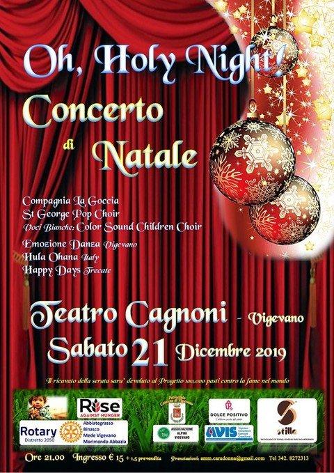 Vigevano24:Vigevano, il Rotary Club Mede Vigevano organizza due concerti benefici natalizi