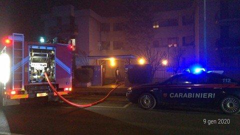 Vigevano24: Vigevano: fiamme in una palazzina di corso Argentina, decisivo l'intervento dei carabinieri per evitare il peggio